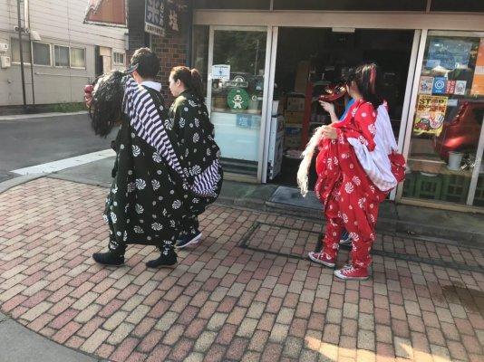 輪西稲荷神社 獅子舞_190814_0047