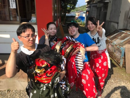 輪西稲荷神社 獅子舞_190814_0069